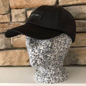 NWT Black Calvin Klein Baseball Cap Hat